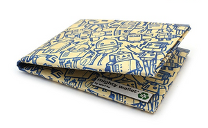 Tyvek Might Wallet - All of the Robots