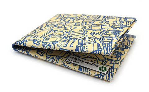 Image of Tyvek Might Wallet - All of the Robots