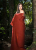 Image of Windermere Russet Terracotta Red Mohair Throw Blanket