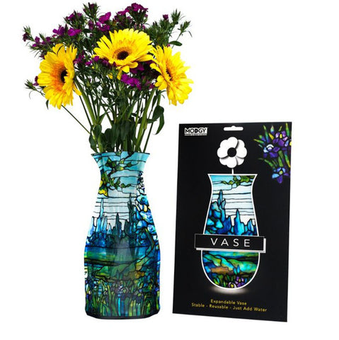 Plastic Expandable Flower Vase - Tiffany Iris