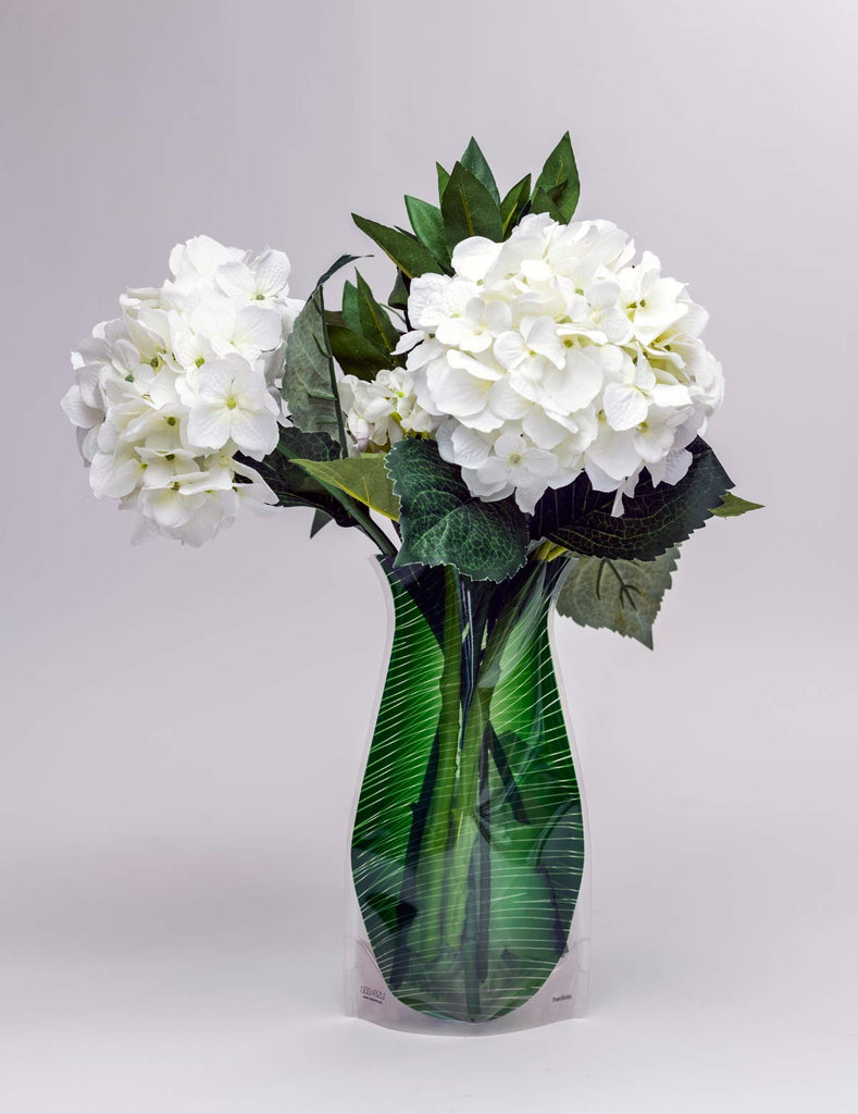 Expandable Flower Vase - Transisto Green. Tap to expand : plastic flower vase - startupinsights.org