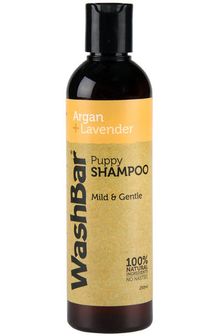 Image of Washbar Shampoo 100% Natural Argan+Lavender 250ml