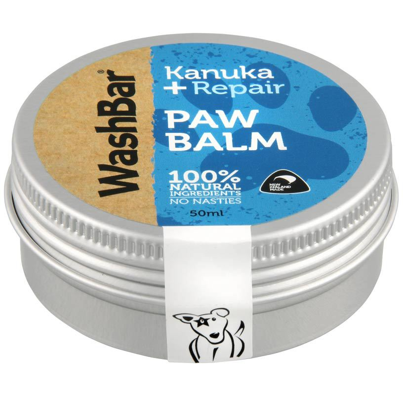 Washbar paw balm for dogs to heal paws