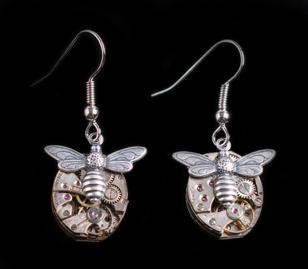 Bee Watch Earrings