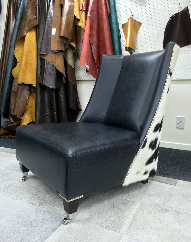 Cow Hide Armchair | Modern Cowhide Chair | Cowhide Feature ...