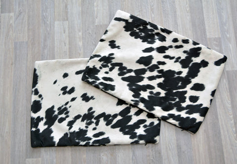Image of Faux Cowhide Cushion Covers - Rectangle