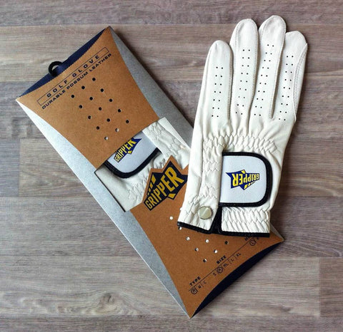 Image of TrueGrip-Gripper Possum Leather Golf Glove - MENS