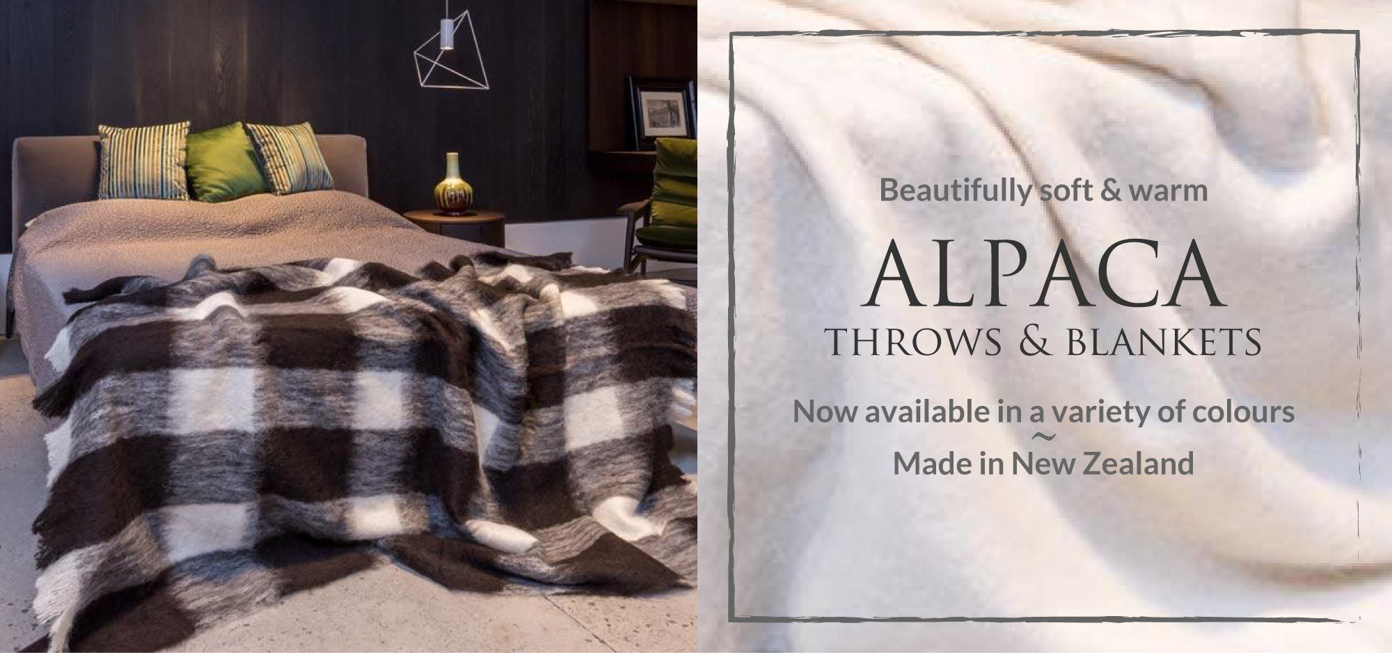 Alpaca Blankets NZ Made
