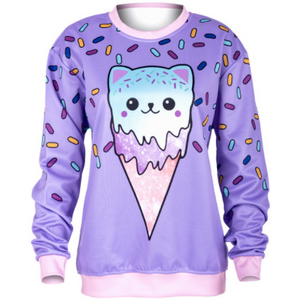 Cat Cream Sweatshirt