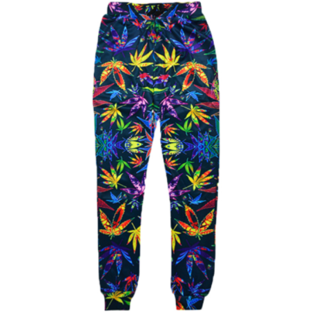Colorful Weed Sweatpants