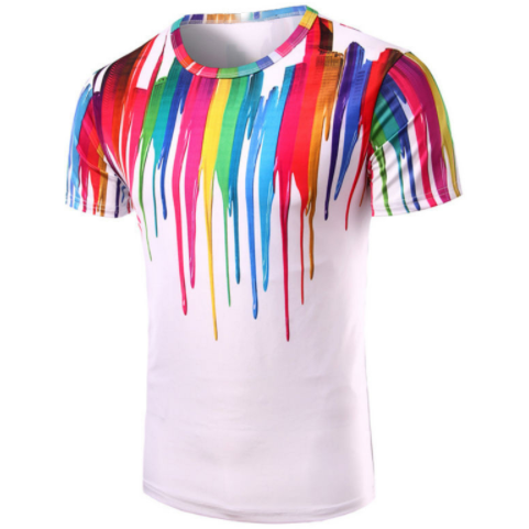 Dripping Color T-Shirt
