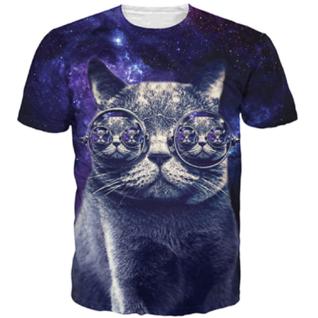 Galactic Catception T-Shirt
