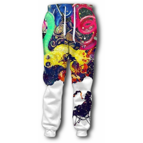 Piping Color Sweatpants