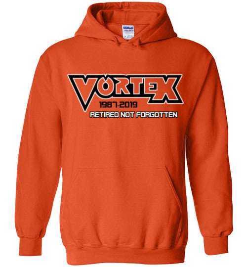 Vortex Roller Coaster Retired - Tribute Hoodies