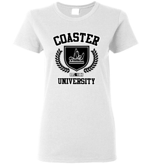 Coaster University Established 1884 - Ladies Styles/Sizes