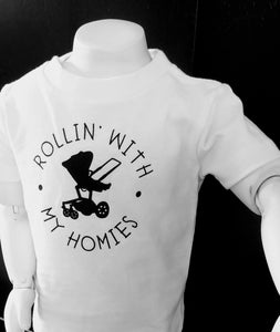Rollin With My Homies Short Sleeve Tee