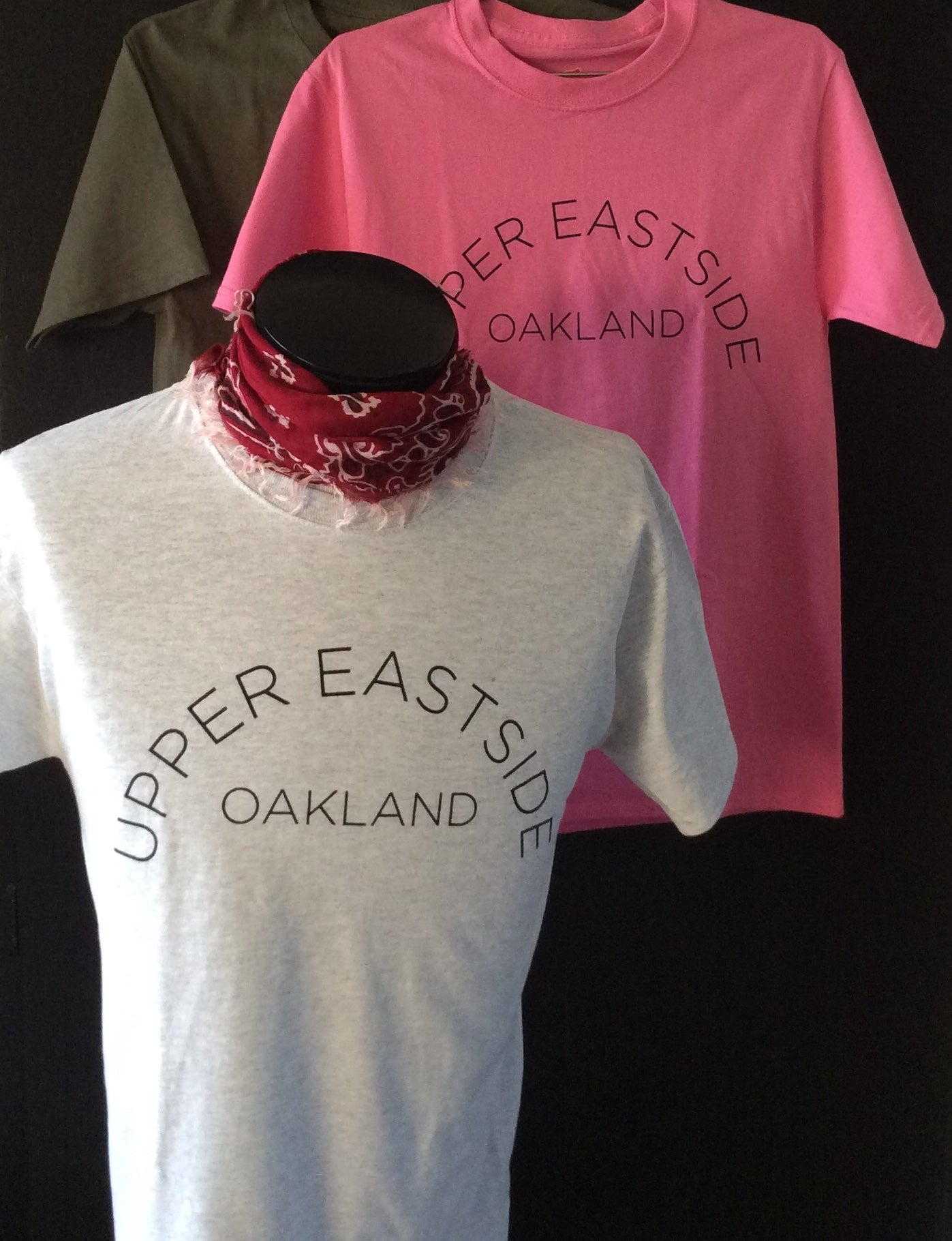 Upper Eastside Oakland Unisex Shortsleeve Tee