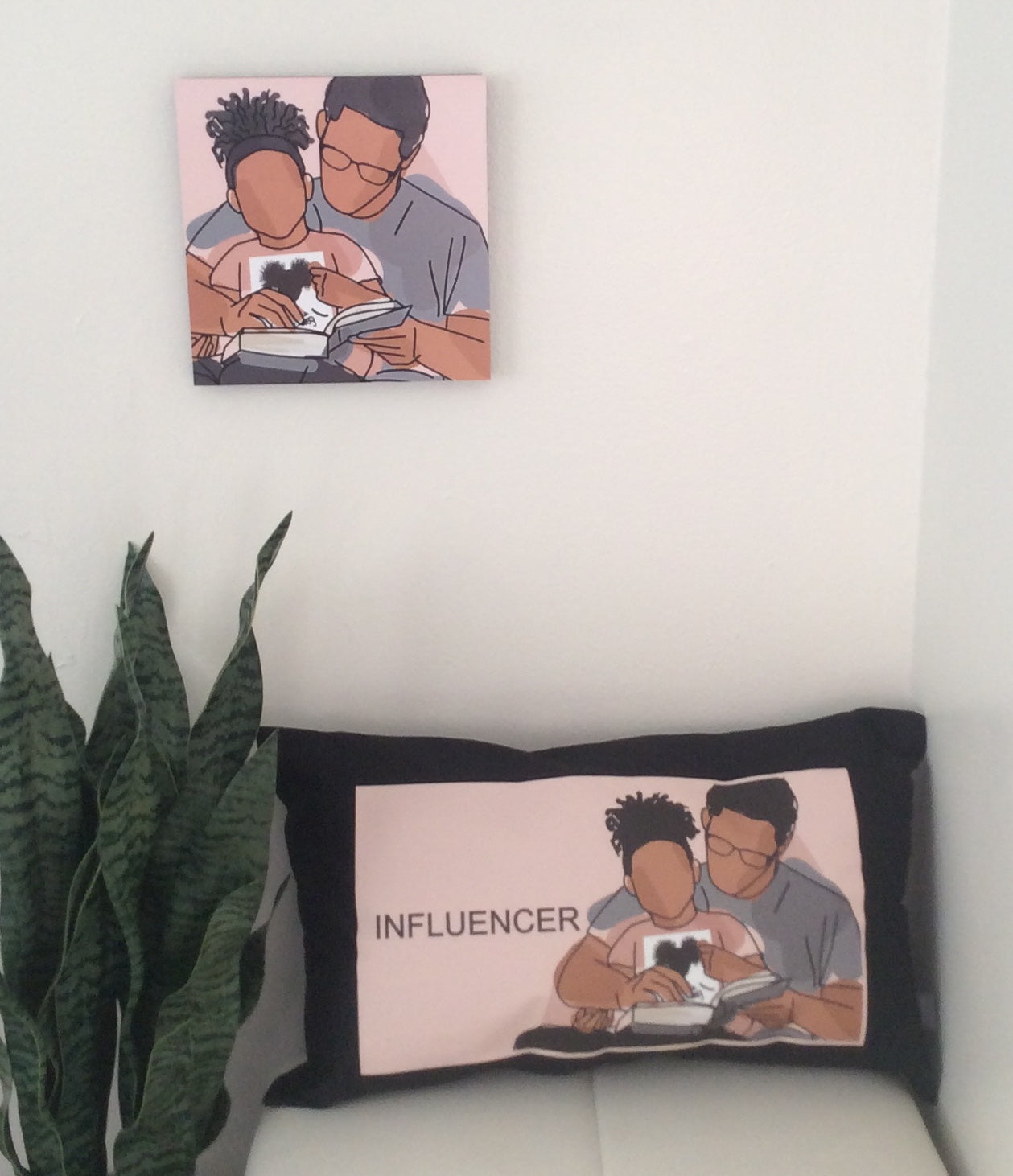 Proud Father - Daughter Lumbar Pillow Cover 12x20