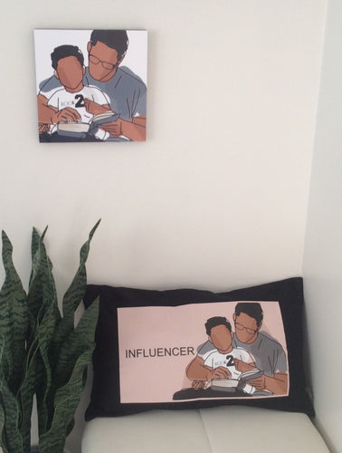 Proud Father - Son Lumbar Pillow Cover