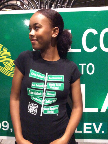 Land of 510 - Short Sleeve Tee - Women - SOLD OUT