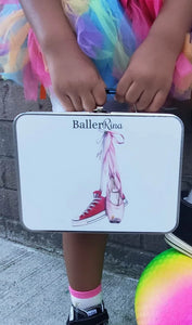 BallerRina Retro Metal Lunchbox