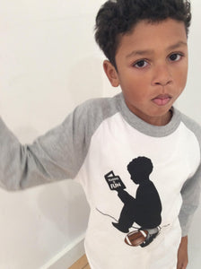 Rook 2 King 3/4 Sleeve Football Sport Child Tee - SOLD OUT