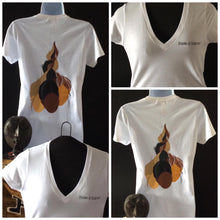 Shades of Sisterhood Vneck Back Design
