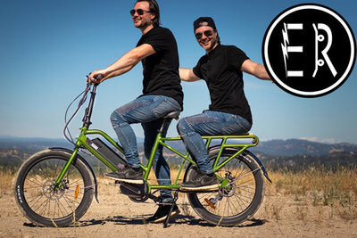 Eunorau G20 Cargo electric bike review: The PERFECT 2-PERSON PASSENGER family wagon e-bike!