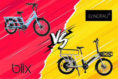 Affordable Cargo E-bikes Blix Packa vs Eunorau
