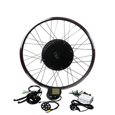 EUNORAU 48V1000W Front&Rear Wheel Fast Hub Screw Freewheel Motor Conversion Kit