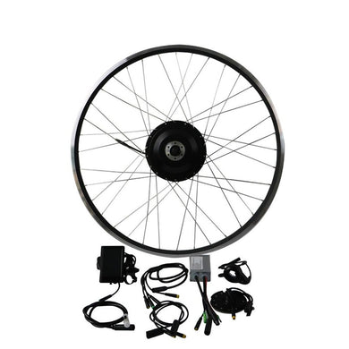 EUNORAU 36V500W Front/Rear Hub Motor Conversion Kit
