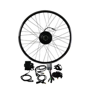 EUNORAU 36V250W ENA Series Legal Front&Rear Screw Freewheel Wheel Electric Bike Kit