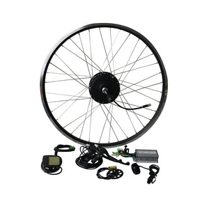 EUNORAU 36V250W Front/Rear Motor Wheel Ebike Conversion Kit