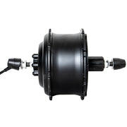 EUNORAU 48V500W Black Rear Hub Motor For Fat Bike 255RPM
