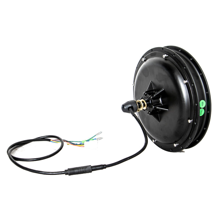 EUNORAU 48V1000W Rear Wheel Hub Screw Freewheel Motor