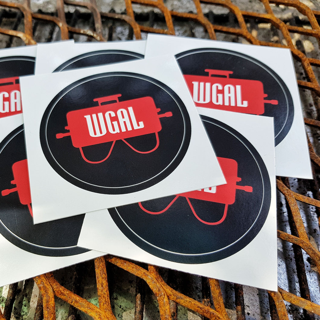 Weber GA Life Stickers + FREE Postage