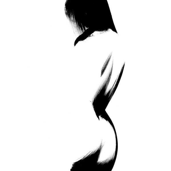 ART PRINT - Feminine no. 30 Black - ONNA