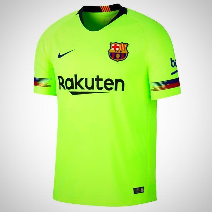 Barcelona Football Jersey Away 18 19 Season [Sale Item]