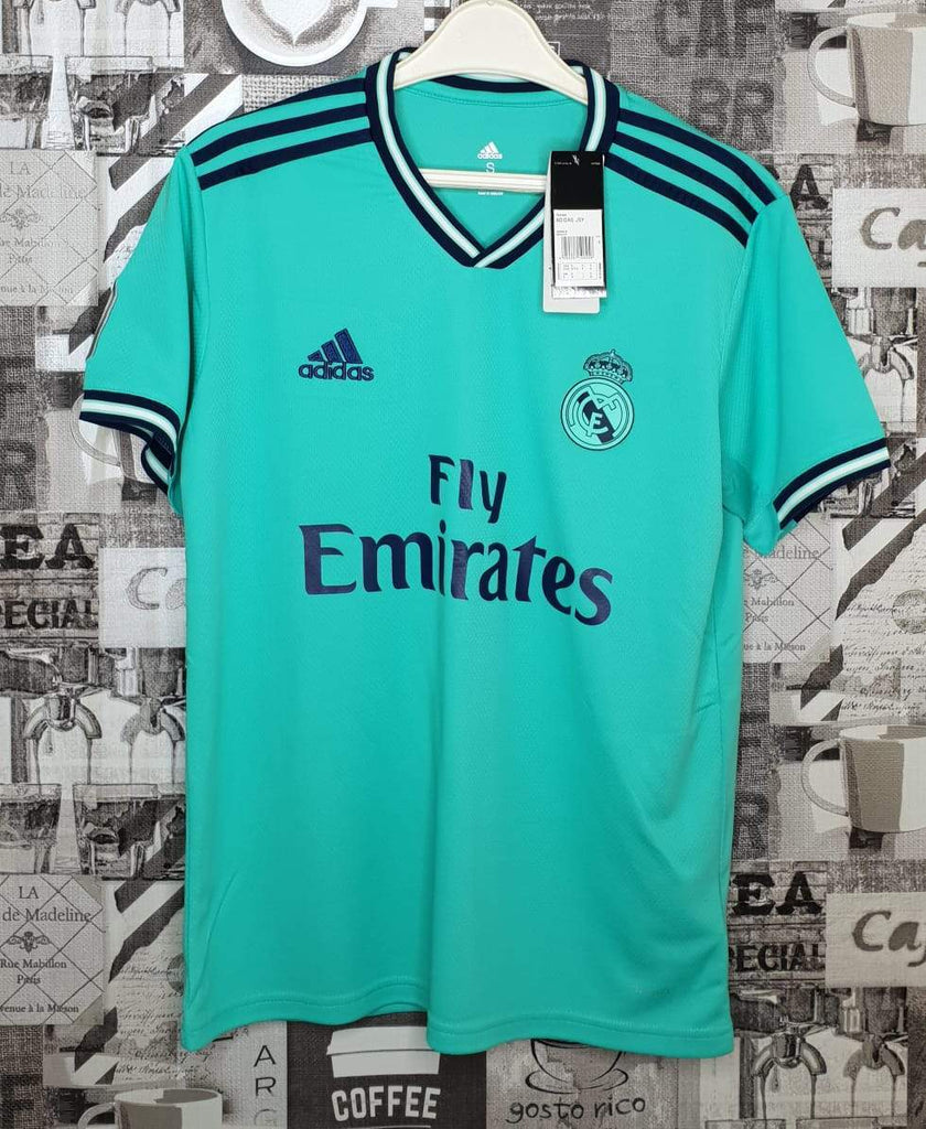 Real Madrid Football Jersey Third 19 20 Season [Sale Item] Jersey_NS sportifynow