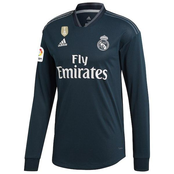 Real Madrid Football Jersey Away FULL SLEEVE 18 19 Season [Sale Item]