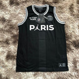 PSG Jordan Sleeveless Black and White Jersey [Sale Item]