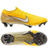 Nike Mercurial Vapor 12 Elite FG NJR Meu Jogo Pack – Amarillo/White/Black[🔥CLEARANCE SALE🔥]