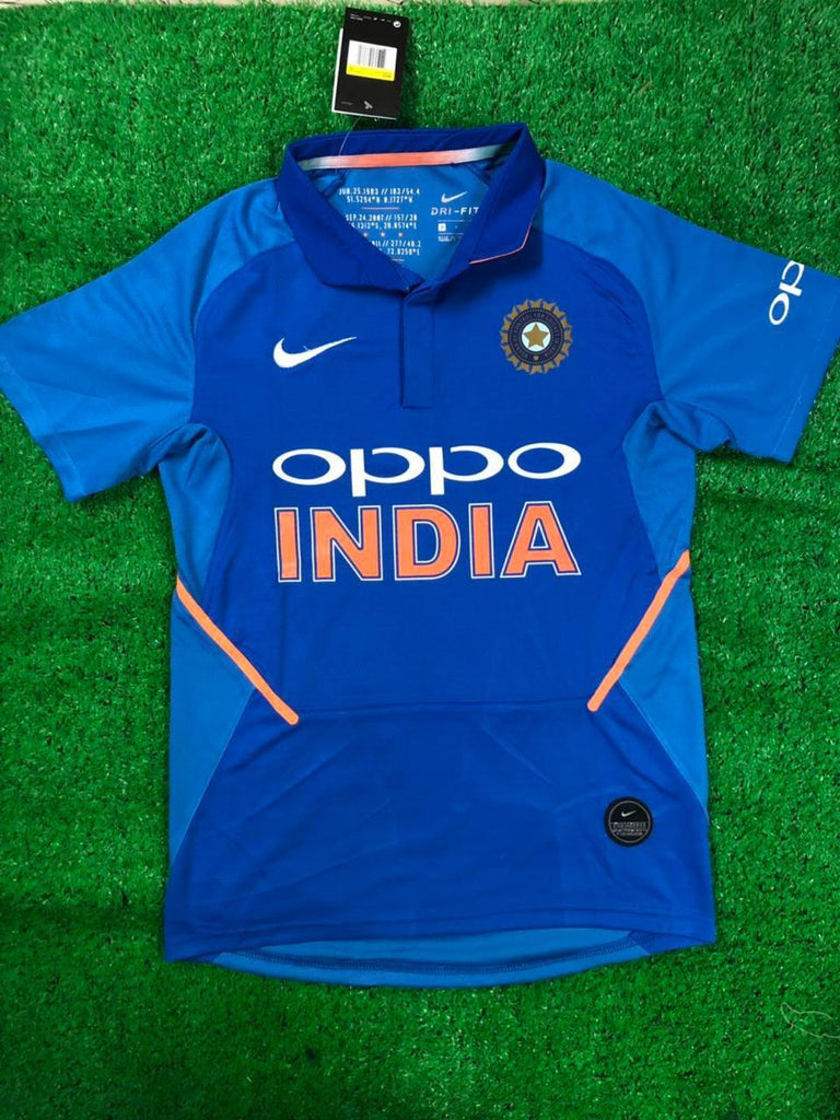 India Cricket World Cup DHONI 7 Jersey 2019 [Premium Quality] Jersey_NS sportifynow