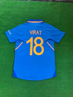 India Cricket World Cup VIRAT 18 Jersey 2019 [Premium Quality] Jersey_NS sportifynow