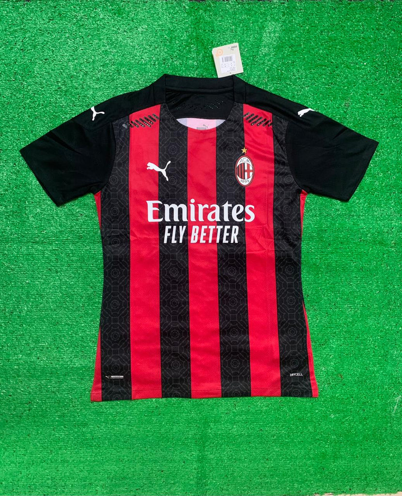 AC Milan PLAYER VERSION Football Jersey Home 20 21 Season [Sale Item]