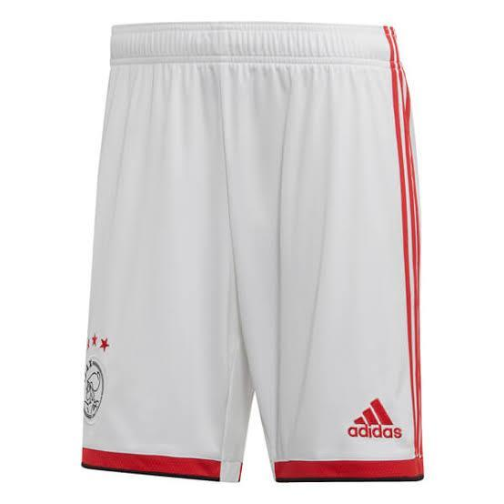 Ajax Football Shorts Home 19 20 Season Shorts sportifynow