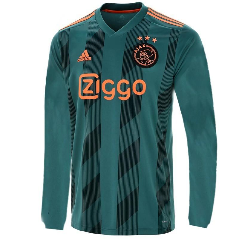 Ajax Jersey Away FULL SLEEVE 19 20 Season [Sale Item] Jersey_NS sportifynow