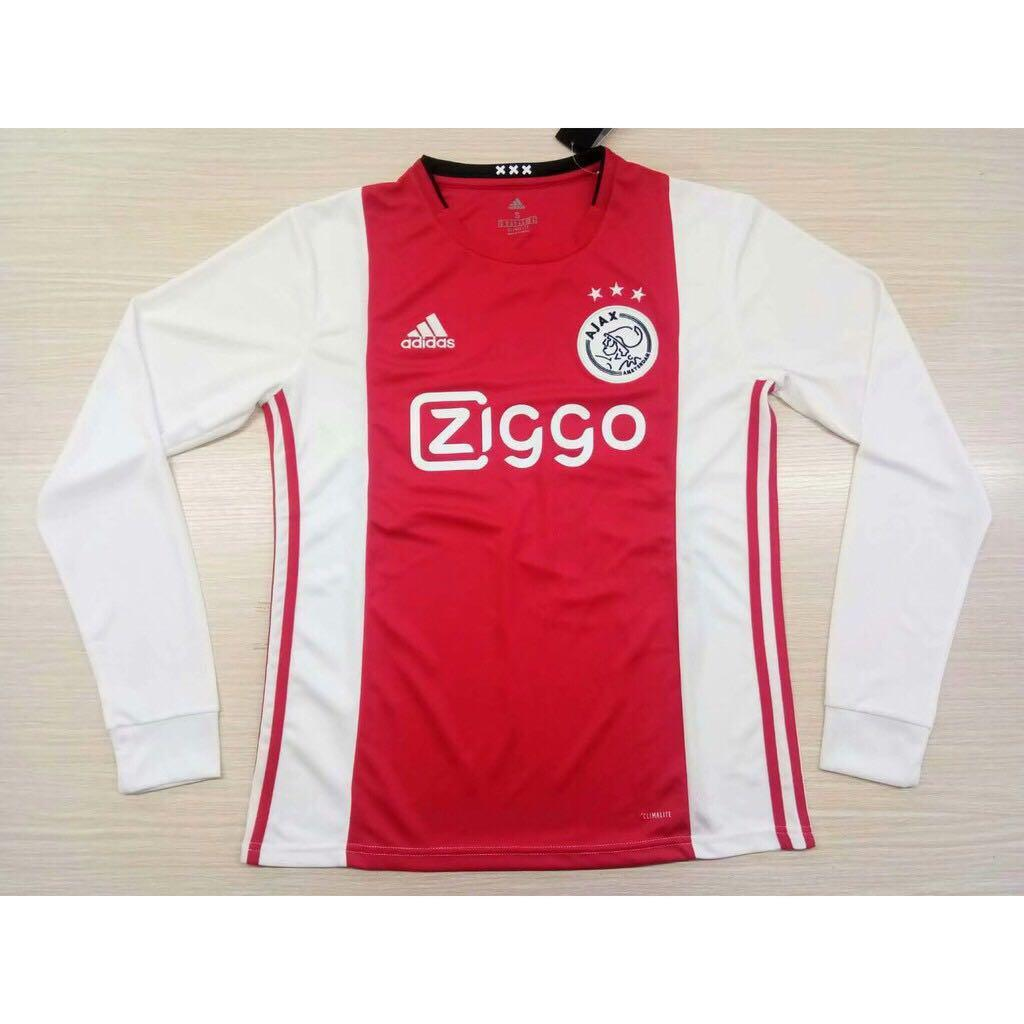 Ajax Jersey Home FULL SLEEVE 19 20 Season [Sale Item] Jersey_NS sportifynow