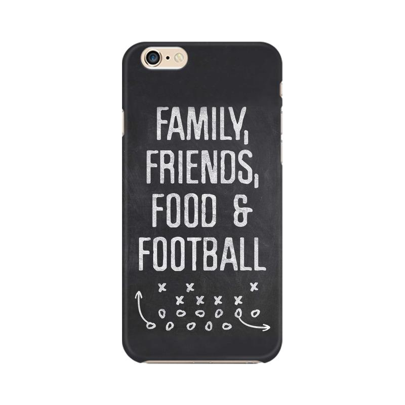 Family Friends Food Football Phone Case[Available For 90+ Phone Models] Phone Case printrove Apple iPhone 6