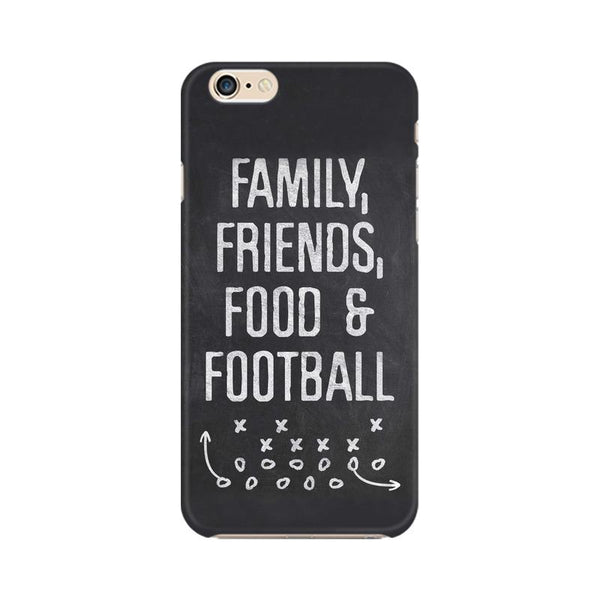 Family Friends Food Football Phone Case[Available For 90+ Phone Models] - sportifynow
